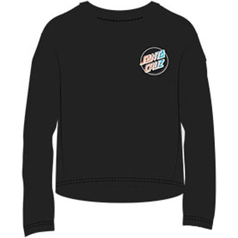 Santa Cruz Shark Regular Youth Girls Long-Sleeve Shirts (BRAND NEW)