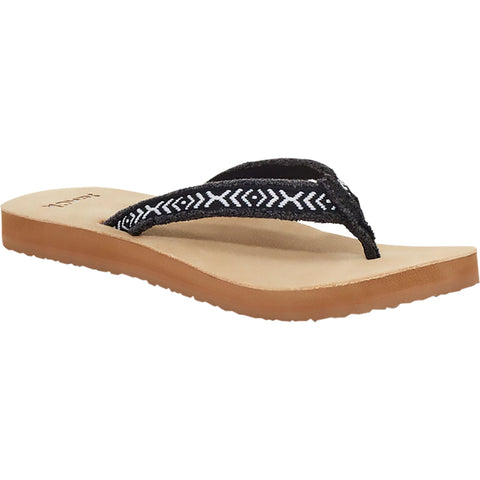 Sanuk Fraidy Tribal Flip Flops Women's Sandal Footwear (NEW - LAST CALL)
