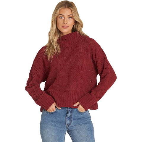 Billabong Cherry Moon Women's Sweater Sweatshirts (BRAND NEW)