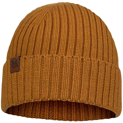 Buff Helle Knitted Adult Beanie Hats (NEW)