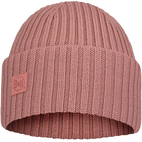 Buff Merino Wool Knitted Ervin Adult Beanie Hats (NEW)