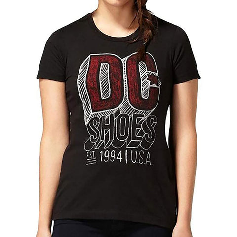 DC Chalkline Women's Short-Sleeve Shirts (BRAND NEW)