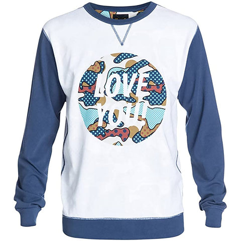 DC Cyrcle Love You Men's Long-Sleeve Shirts (BRAND NEW)