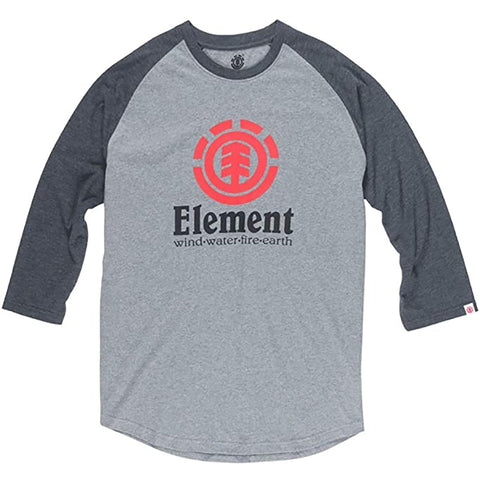Element Script Men's 3/4-Sleeve Shirts (BRAND NEW)