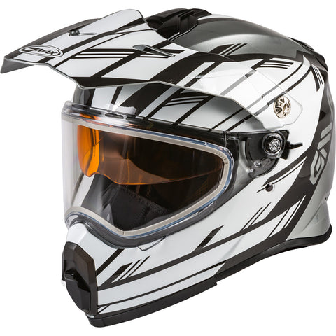 GMAX AT-21S Epic Dual Shield Adult Snow Helmets (NEW - WITHOUT TAGS)