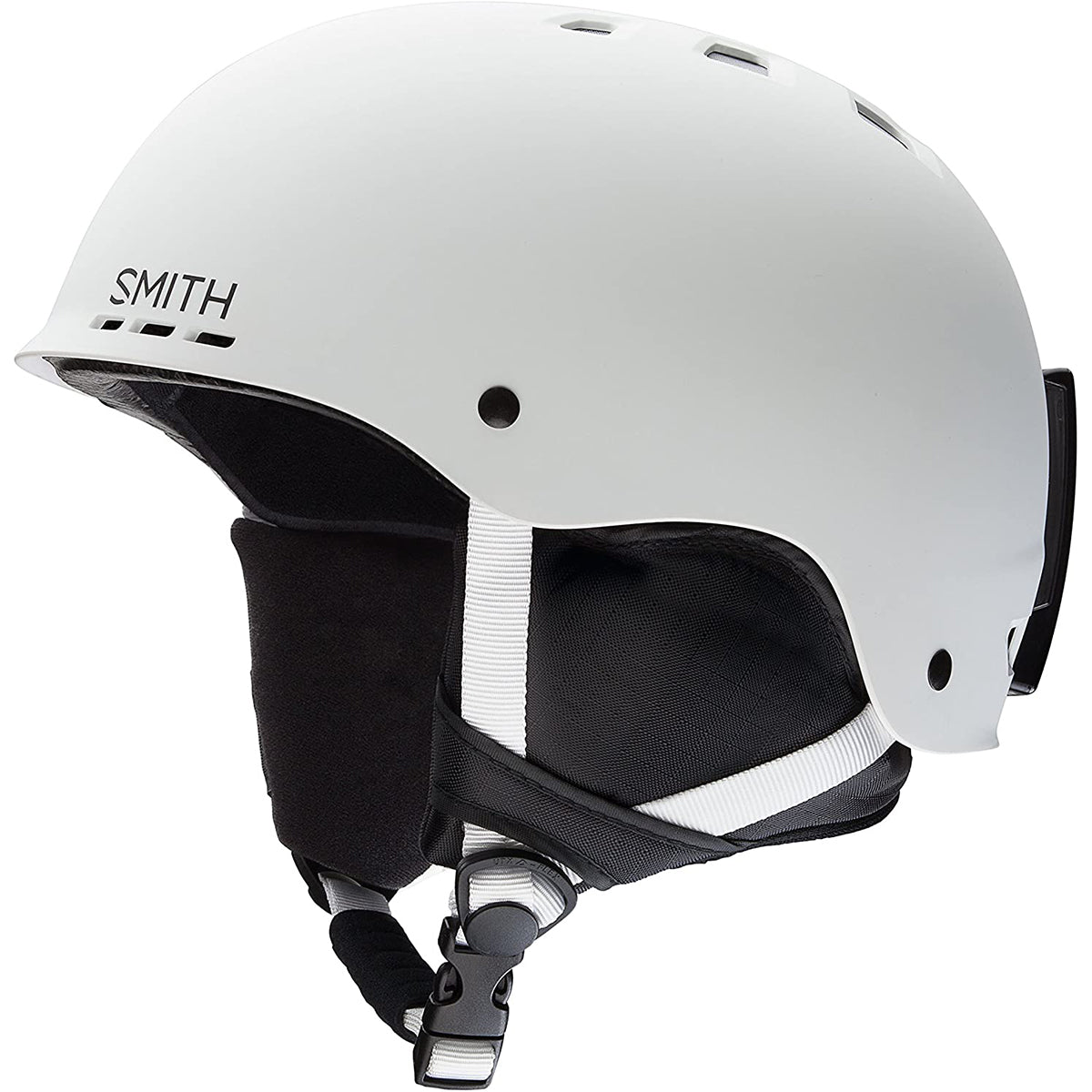 113a935c934a1 Smith Optics Holt Adult Snow Helmets - Matte White