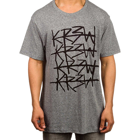 KR3W Cross Out Men's Short-Sleeve Shirts