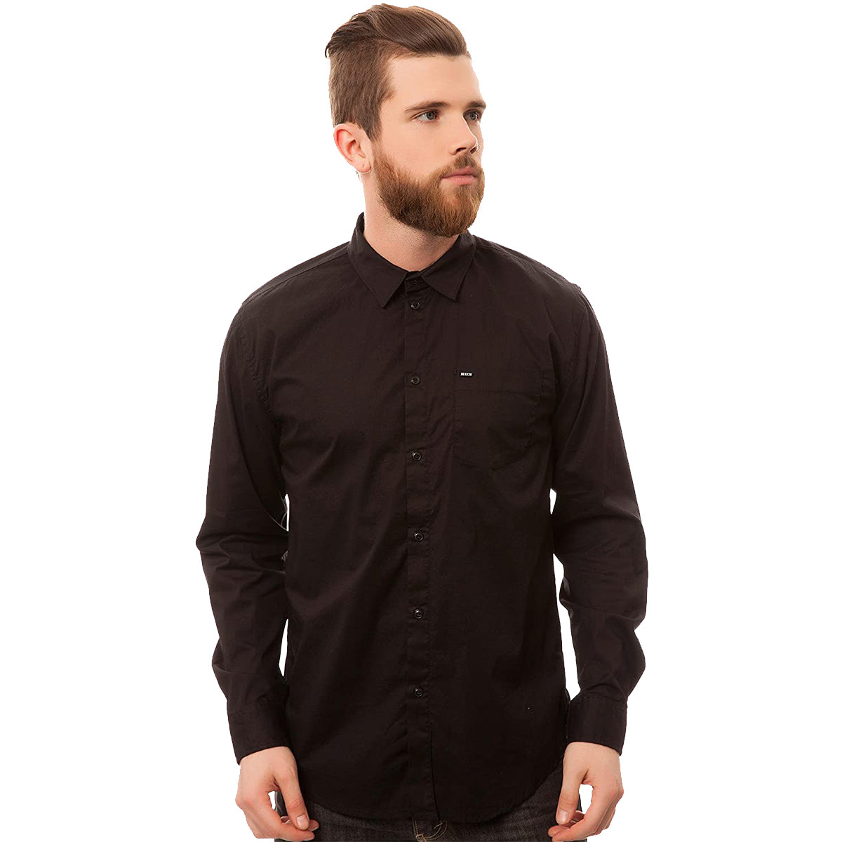 KR3W Fuego Woven Men's Button Up Long-Sleeve Shirts-K15318