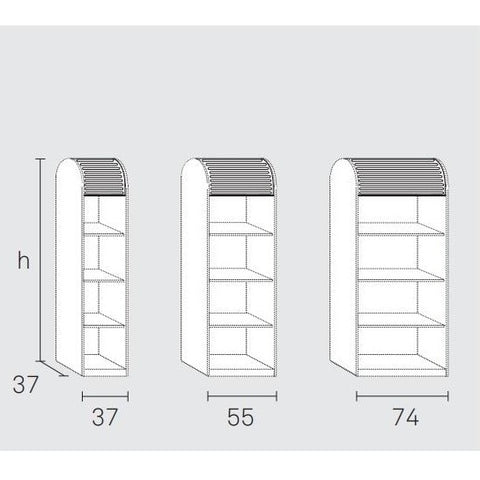 Shutters (rolluiken) for a'dammer unit vertical model (356413800479)