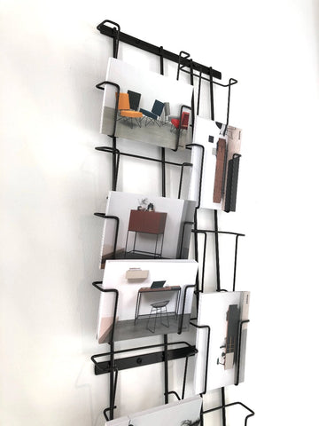 Steel Rack for our Product Cards & Folders