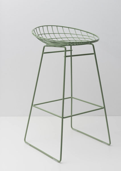 Braakman Coloured Wire Stools KM06 and KM07 (out of production) (4259932438625)