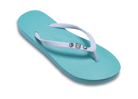 Baby Shower Flip Flops in Neutral Colors for Expectant Ladies