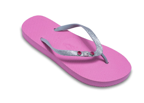 Baby Shower Pink Flip Flops for Ladies Having a Baby Girl!