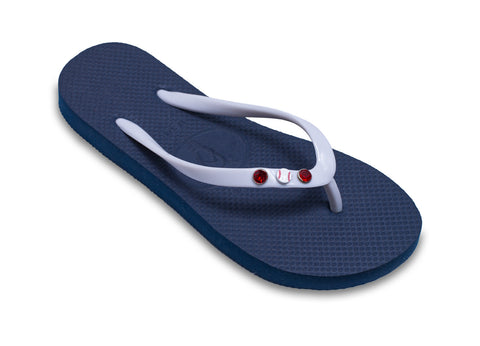 Baseball Lovers Flip Flops for Ladies