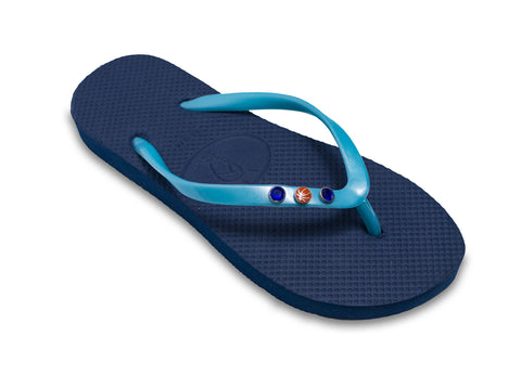 Basketball Flip Flops for Ladies
