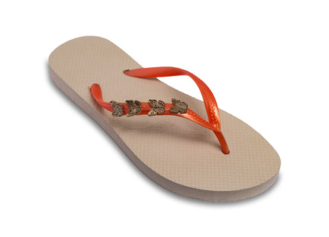 Butterflies Abound Ladies Flip Flops- Profits for African Widows