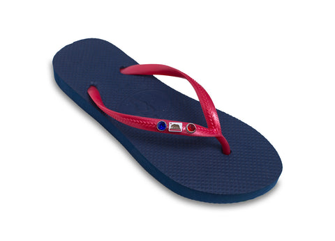California Flag Flip Flops for Ladies