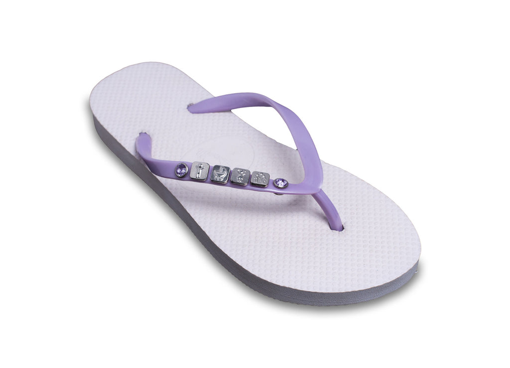Family Flip Flops for ladies: showing the boys, girls, babies in your family!