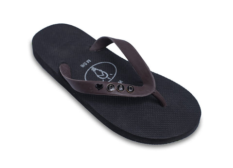 We Love Dad! Flip Flops for Men