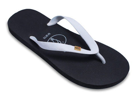 Mens flip flops 'Just Married' for Grooms (also has a matching bridal version)