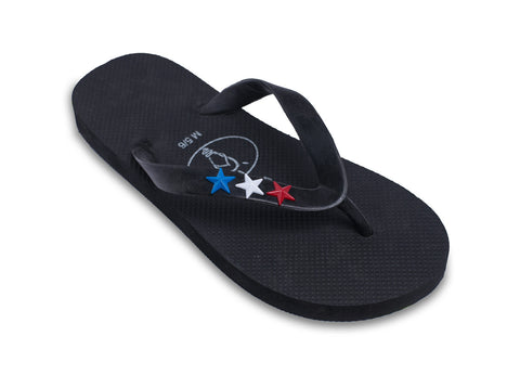Patriotic Stars Flip Flops for Men - Profits for Veterans