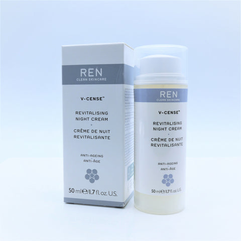 REN Clean Skincare V-Cense Revitalising Night Cream , 50 ml / 1.7 oz - Psyduckonline