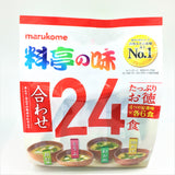 Japanese Marukome Instant Miso Soup 4 flavors