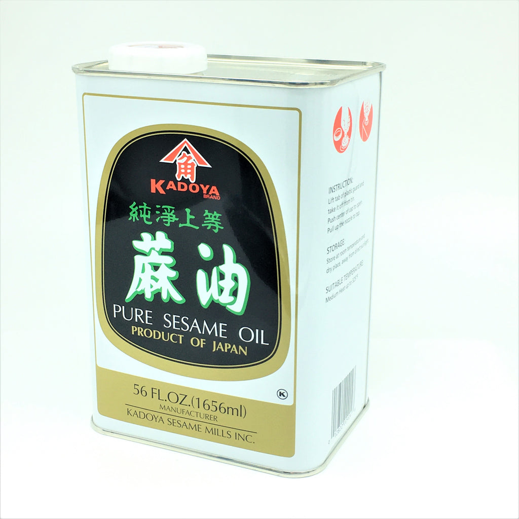 Japanese Kadoya Pure Sesame Oil 1656ml / 56 oz
