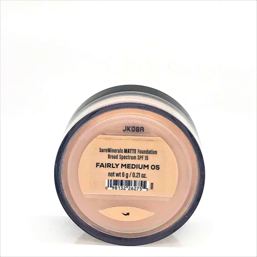 bareMinerals Matte SPF 15 Foundation - Fairly Medium 05, 6g/0.21 oz - Psyduckonline