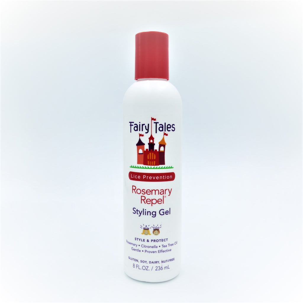 Fairy Tales Lice Prevention Rosemary Repel Styling Gel , 236 ml / 8 oz - Psyduckonline