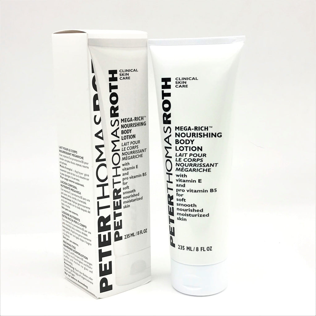 Peter Thomas Roth Mega-Rich Nourishing Body Lotion, 235 ml / 8 fl oz - Psyduckonline