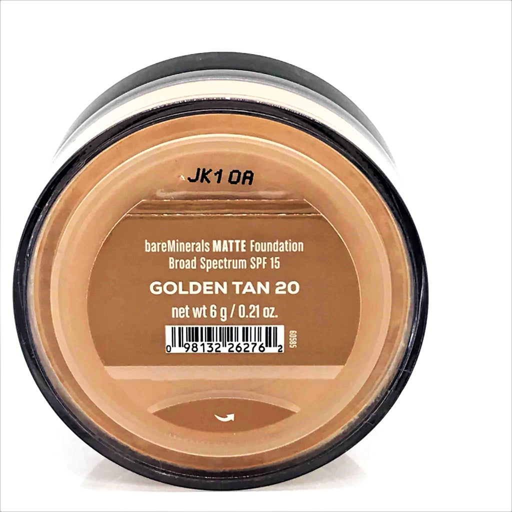 bareMinerals Matte SPF 15 Foundation Golden Tan 6 g / 0.21 oz - Psyduckonline