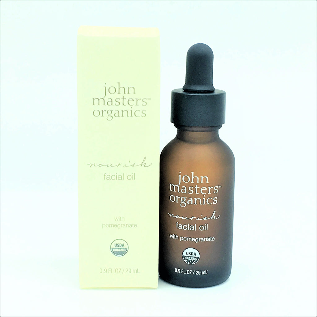 John Masters Organics Nourish Facial Oil With Pomegranate 0.9oz / 29mL - Psyduckonline