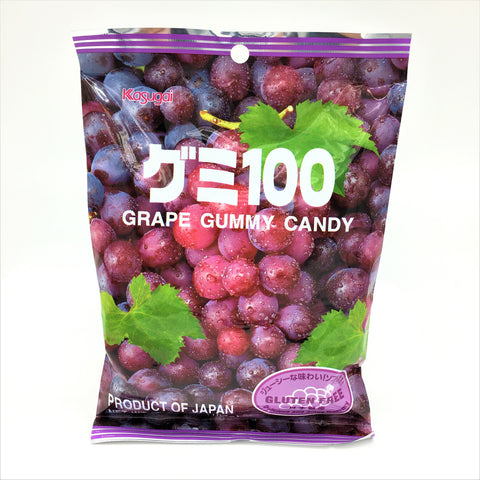 Japanese Kasugai Gummy Candy -Grape 107g