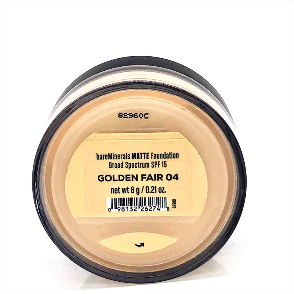 bareMinerals Matte SPF 15 Foundation - Golden Fair 04 , 6g / 0.21 oz - Psyduckonline