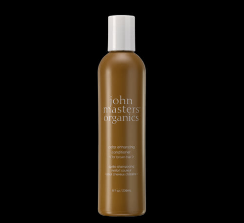 John Masters Organics Color Enhancing Conditioner, Brown, 8 fl oz / 236 ml - Psyduckonline