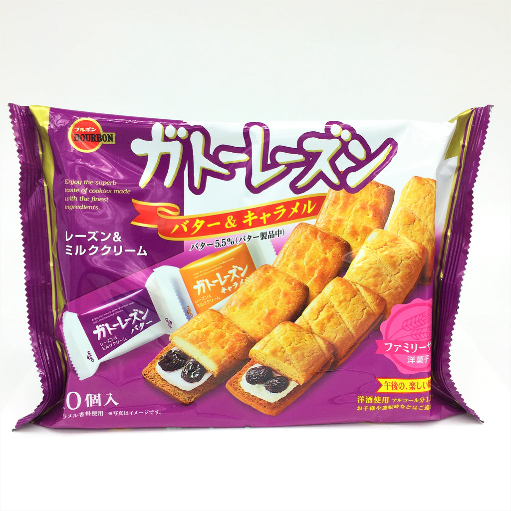 Bourbon Japanese Gateau Raisin Cookie 170 g