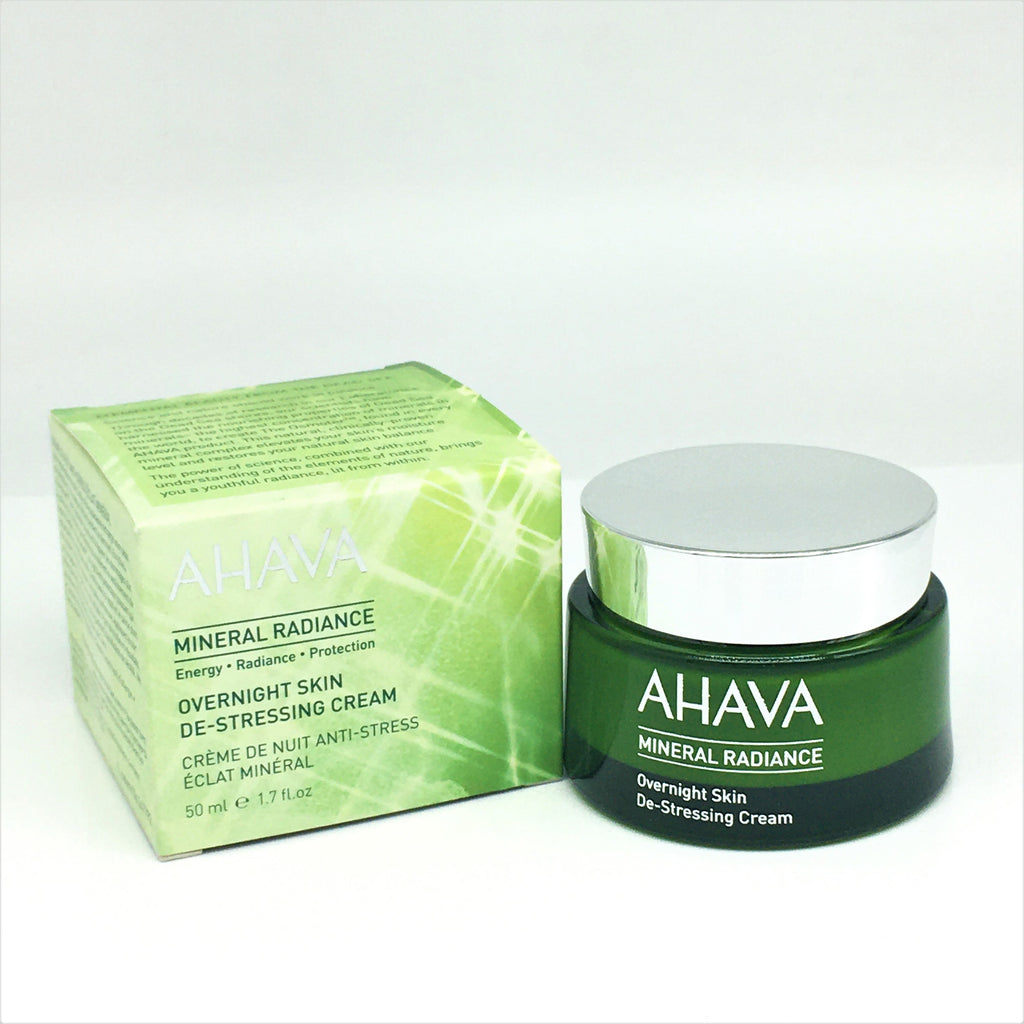 AHAVA Mineral Radiance Overnight Skin De-Stressing Cream 50 ml/1.7 oz