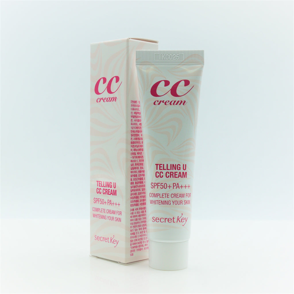 Secret Key Telling U CC Cream SPF50 PA+++ 30ml - Psyduckonline