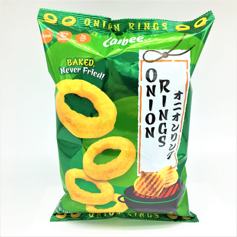 Calbee Baked Rings Onion Flavored Snacks 140 g- 60% Less Sodium