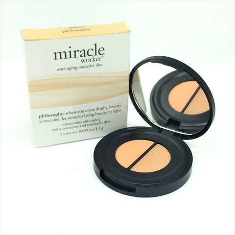 Philosophy Miracle Worker-Anti aging concealer duo 2x1.1g - Medium