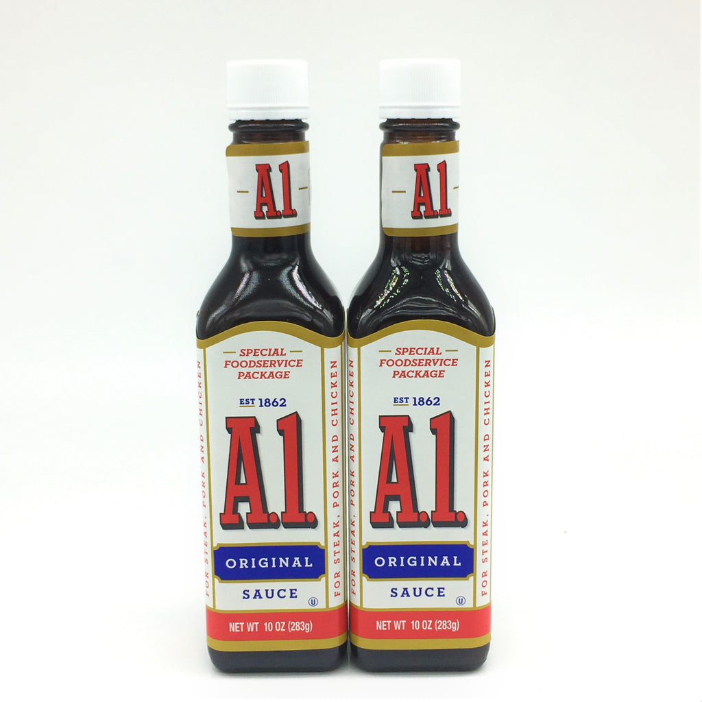 A1 Original Sauce For Steak,Pork And Chicken 10 oz X2 Pack