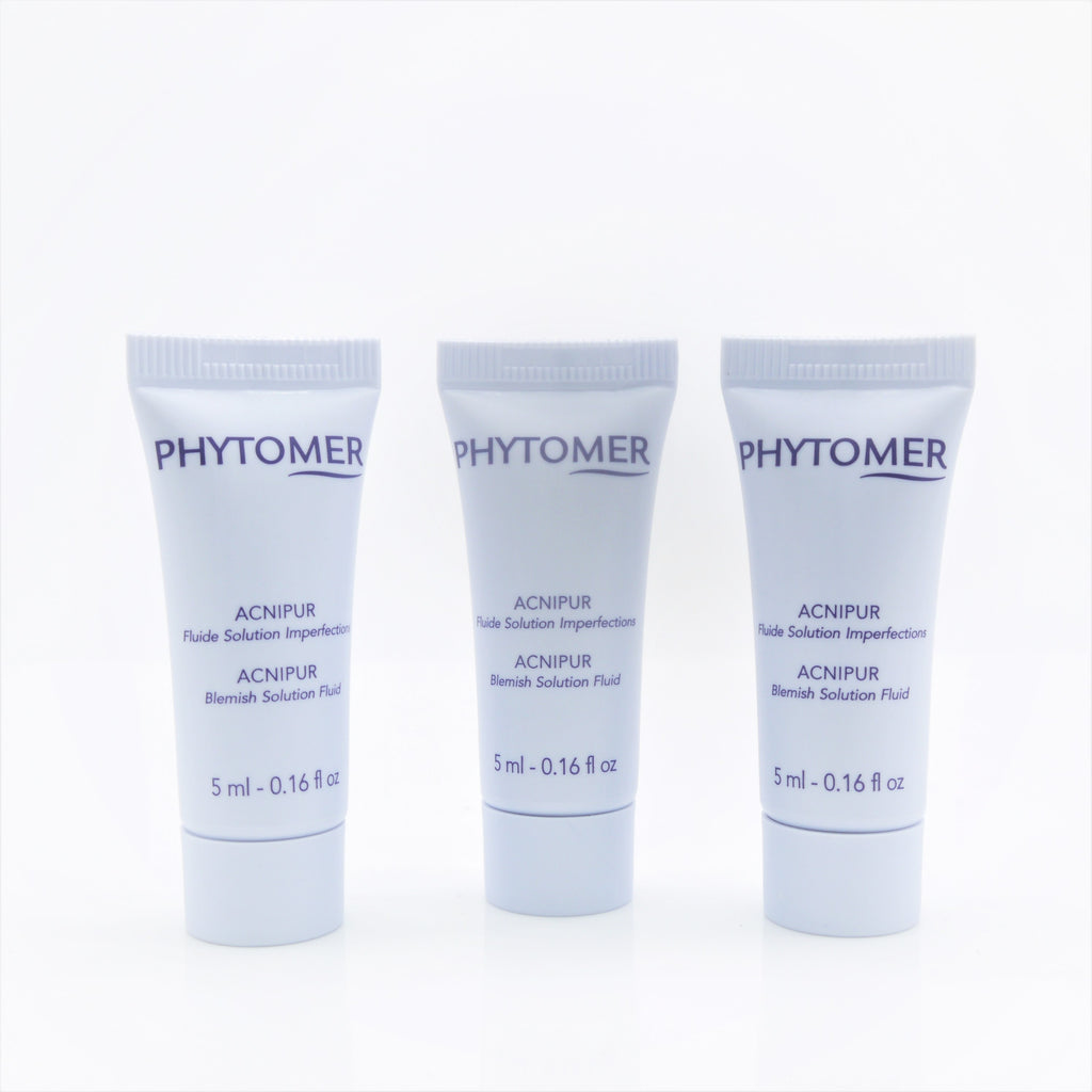 Phytomer Acnipur Blemish Solution Fluid (Travel Size 3x of 5 ml) - Psyduckonline