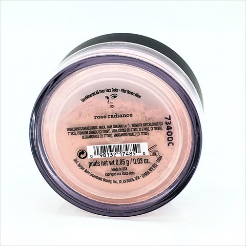 bareMinerals All Over Face Powder - Rose Radiance 0.85g/0.03 oz - Psyduckonline