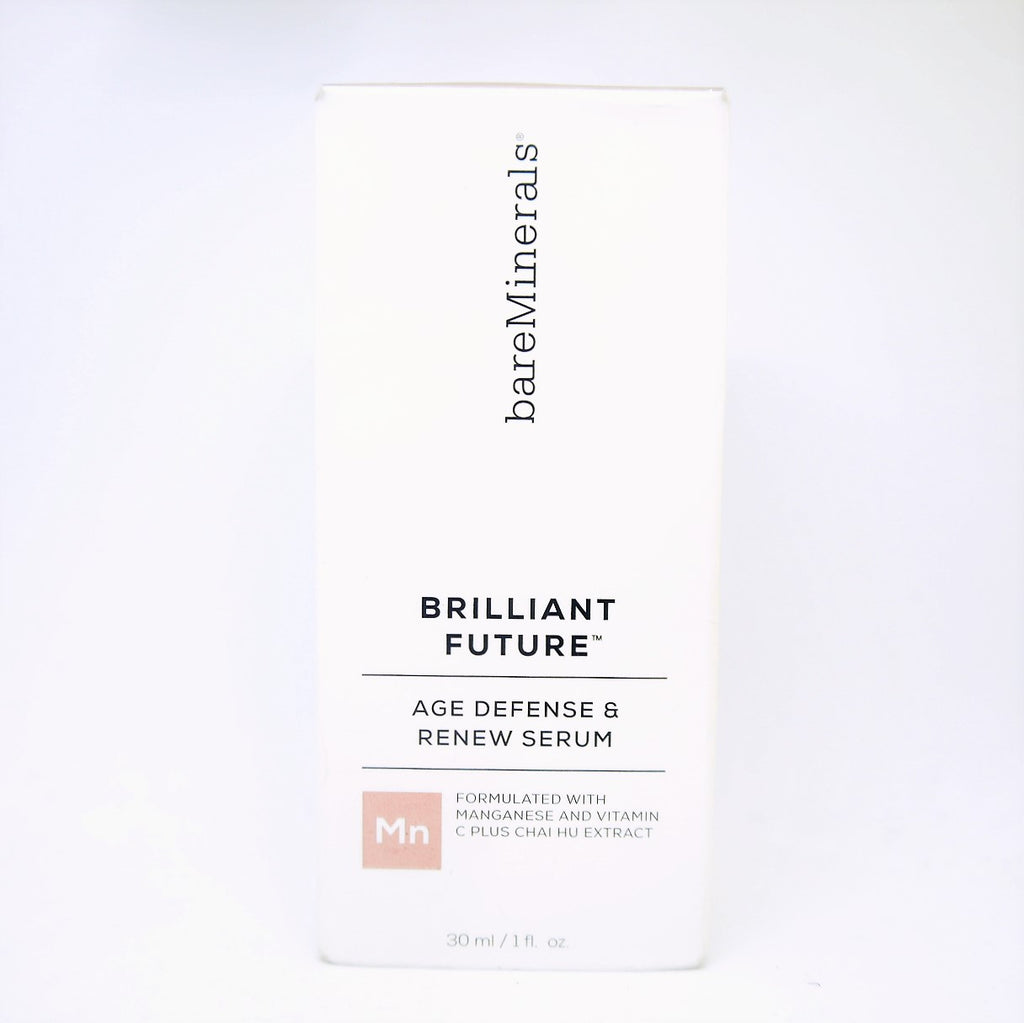 bareMinerals Brilliant Future Age Defense & Renew Serum , 30 ml / 1 fl oz - Psyduckonline