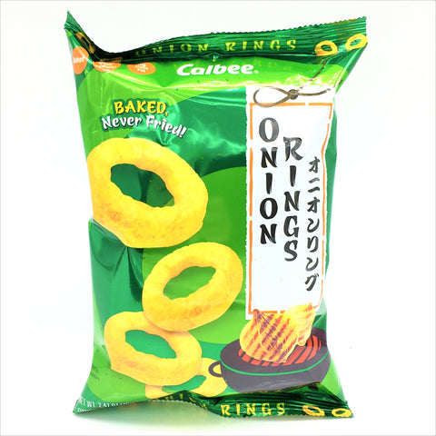 Calbee Baked Rings Onion Flavored Snacks 70 g- 60% Less Sodium