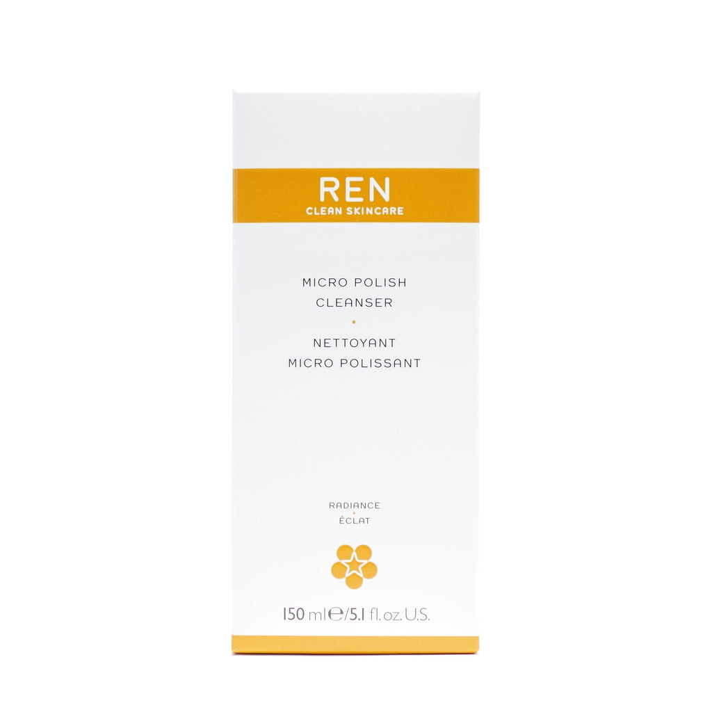 REN Clean Skincare Micro Polish Cleanser , 150 ml / 5.1 oz - Psyduckonline