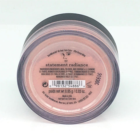 bareMinerals All Over Face Color 0.85g/ 0.03 oz -Statement Radiance