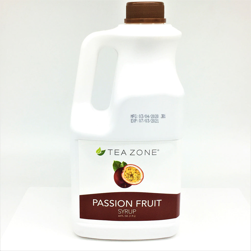 From Taiwan, Tea Zone Passion Fruit Syrup 1.9L
