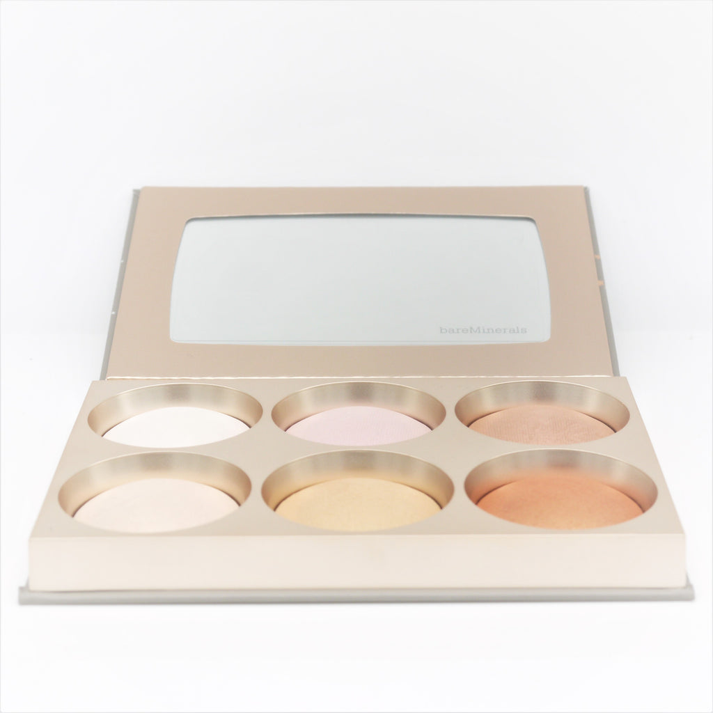 bareMinerals Stellar Glow 6-Shade Mega-Highlighting Palette - Psyduckonline